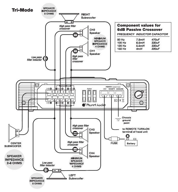 mb quart crossover wiring diagram