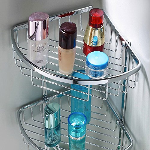 Stainless Steel Corner Shower Caddy Wall Mount