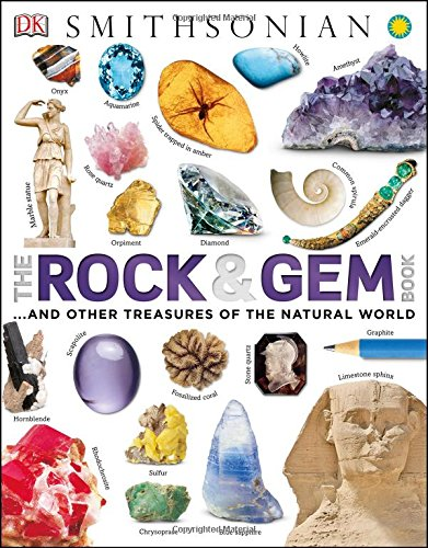 The Rock and Gem Book: A Visual Encyclopedia of the Earth's Treasures (Smithsonian Rocks Minerals Gems compare prices)