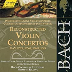 Violin Concerto in G Minor, BWV 1056: III. Presto