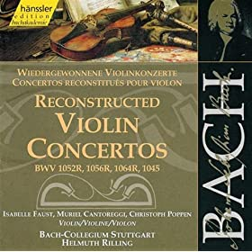 Violin Concerto in D Minor, BWV 1052: III. Allegro