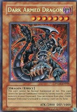 遊戯王 英語版 DARK ARMED DRAGON ダーク・アームド・ドラゴン シークレットレア PTDN-EN019