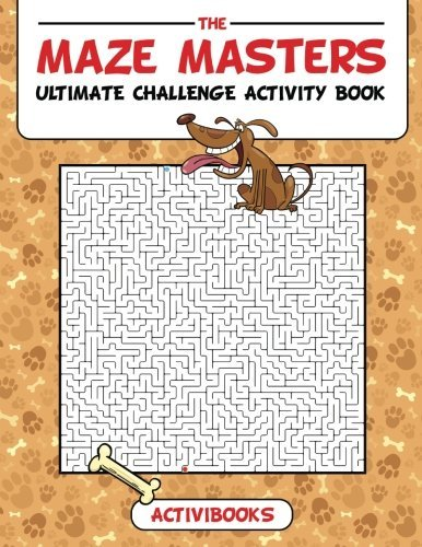 The Maze Masters Ultimate Challenge Activity Book (Masters Of The Maze compare prices)