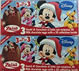 2 x Disney Pixar Christmas Mickey Mouse Chocolate, Free Gift