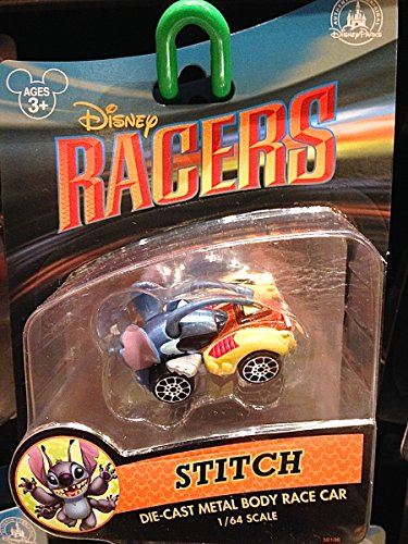 Disney Park Racer Stitch Diecast Model Car Racers NEW - 1