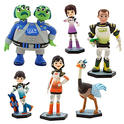 Disney - Miles From Tomorrowland Figure Play Set - New