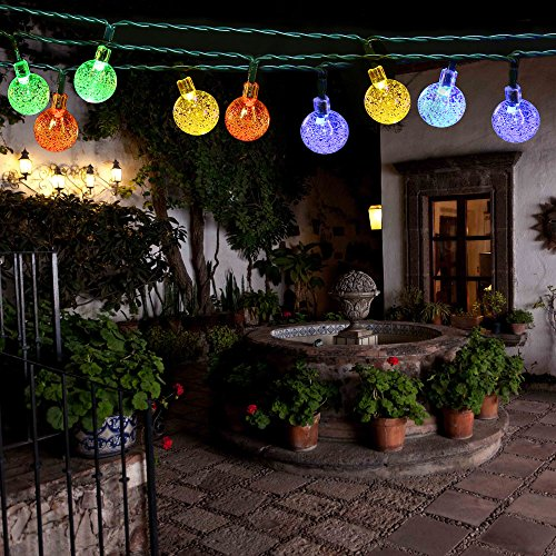 Thanksgiving String Lights Outdoor : [Rechargeable Battery Included]Battery Operated Christmas String Lights with ... eBay