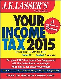 J.K. Lasser's Your Income Tax