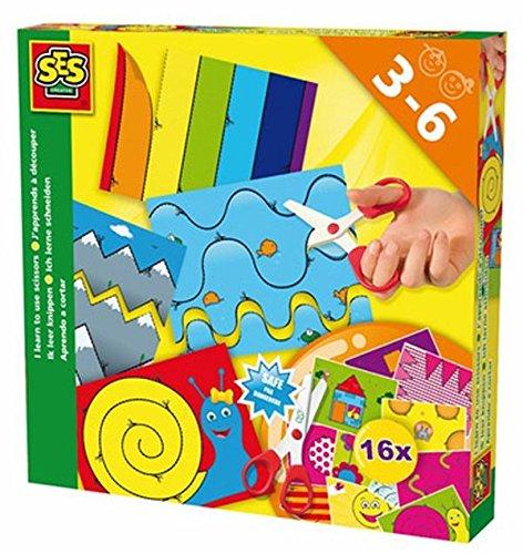 ses-deutschland-14809-juego-creativo-para-aprender-a-recortar-importado-de-alemania