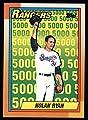 1990 Topps # 5 Nolan Ryan Salute Nolan Ryan Texas Rangers (Baseball Card) Dean's Cards 8 - NM/MT
