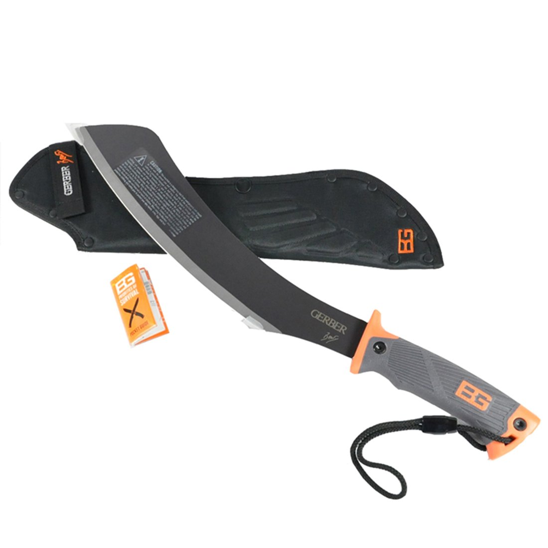 Gerber 31-002289 Bear Grylls Parang Machete with Nylon Sheath  $36.67