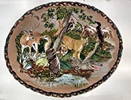 Ribbon & Stumpwork Embroidery of The Animals of SE U.S. A Mixed Media Giant 19\