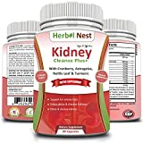 Kidney Cleanse Plus+ - Detox formula for kidney, urinary tract and renal symptoms. Natural & herbal Kidney cleanse and badder support formula with Cranberry, Astragalus, Birch, Buchu, - 60 Tablets