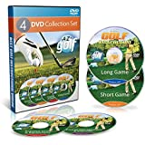 Best Instructional Golf Videos - Learn Basic Swing with Lessons - 4 DVD Set