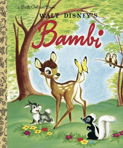 Bambi (Disney Bambi) (Little Golden Book)