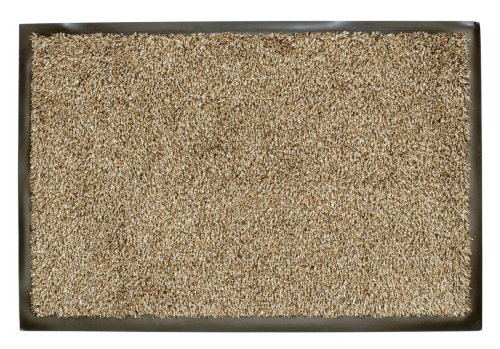 William Armes Dandy Washamat Doormat, 60 x 40 cm, Beige