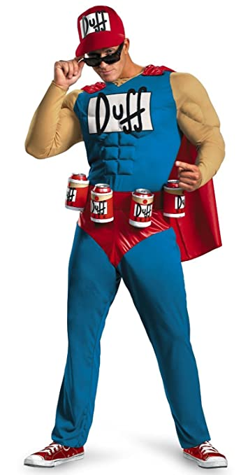 Ace Halloween Adult Men's Muscle Duffman Costumes