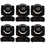 Eshine Beam Moving Head SHARPY 5R Beam 200W stage Lighting For Wedding Christmas Birthday DJ Disco KTV Bar Event Party Show (6PCS/Lot Beam 200W)