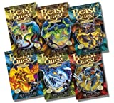 Adam Blade Beast Quest Series 11 Collection - 6 Books RRP £29.94 (61: Elko Lord of the Sea; 62: Tarrok the Blood Spike; 63: Brutus the Hound of Horror; 64: Flaymar the Scorched Blaze; 65: Serpio the Slithering Shadow; 66: Tauron the Pounding Fury)