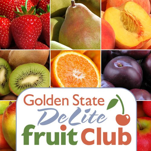 Golden State DeLite Monthly Fruit Club - 12 Month Club