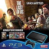 Sony PlayStation 3 500GB SuperSlim Console (Free Games: Uncharted, Uncharted 2,Uncharted 3 And The Last Of Us)...