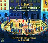 J.S.バッハ : 管弦楽組曲 (全曲) (J.S.Bach : Les Quatre Ouvertures ~ Suites pour orchestre, BWV 1066-1069 / Le Concert des Nations , Jordi Savall) [2SACD Hybrid] [輸入盤・日本語解説書付]