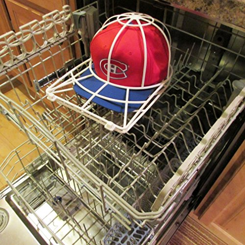 washing a hat in the washing machine