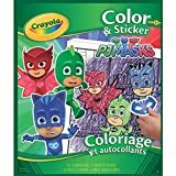 Crayola PJ Masks Color and Sticker Book