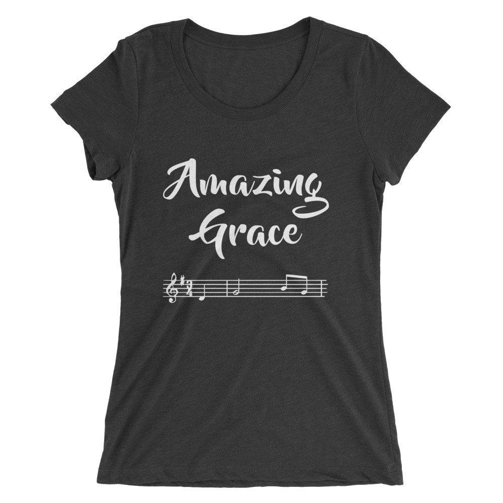 Buy Amazing Grace Ladies T Shirt Now!
