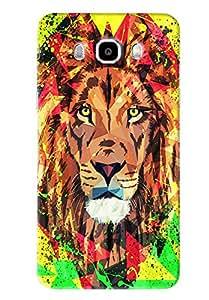 Blue Throat Lion Printed Designer Back Cover/Case For Samsung Galaxy J7 2016