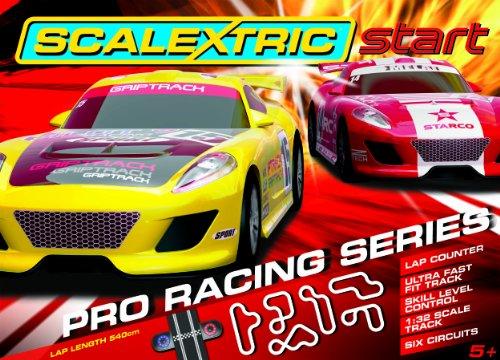 Scalextric Start C1271 Pro Racing Series 1:32 Scale Race Set