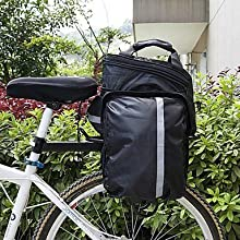 Cycling Polyester Waterproof Bicycle Accessories Package Riding Gear Rack Package