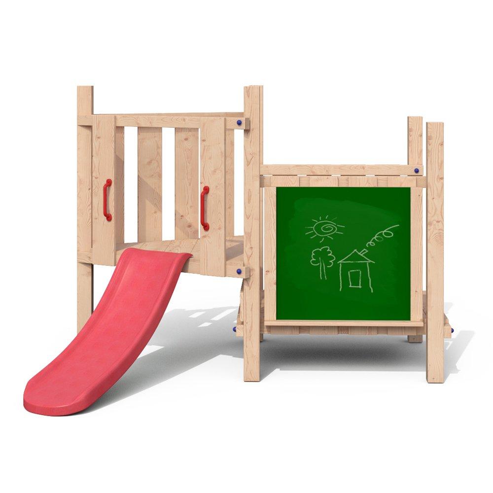 JACKY JOY Spielturm Spielhaus Kletterturm Rutsche Tafel online bestellen