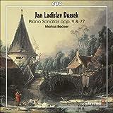 echange, troc  - Jan Ladislav Dussek: piano Sonatas, Opp. 9 & 77