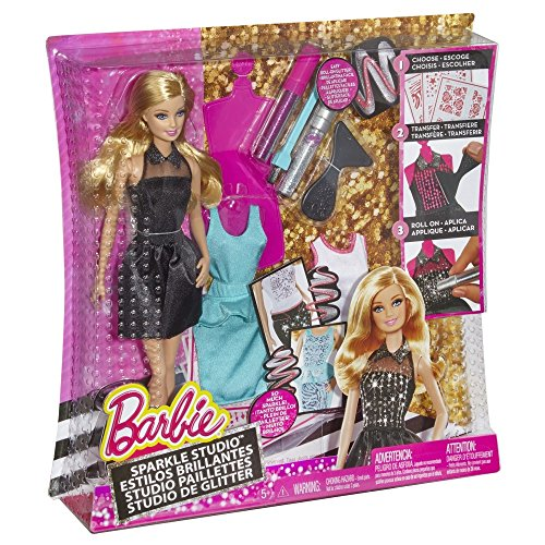 Barbie - Muñeca purpurina fashion (Mattel CCN12-0)