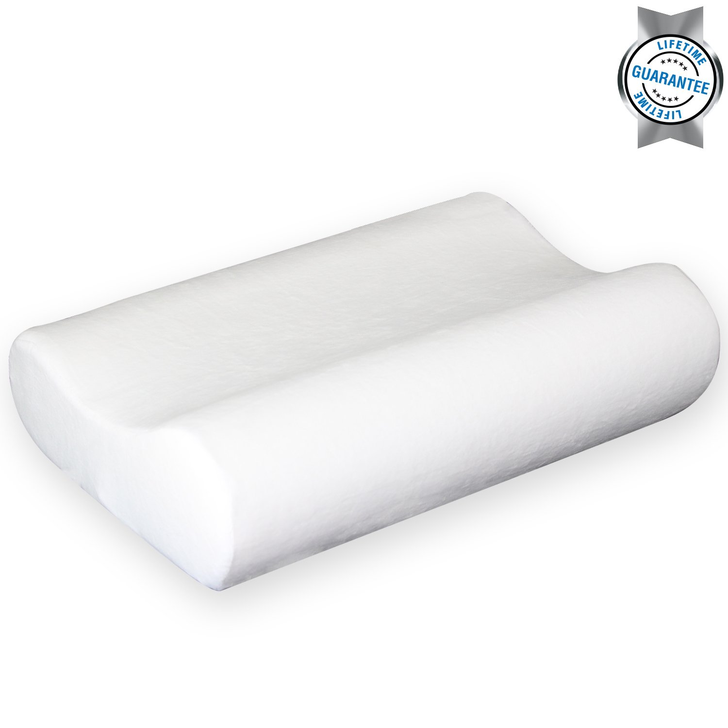 contour memory foam pillow by vive