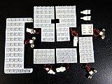 ヴォクシー VOXY 70系 ルームランプ ノア 70 大型ドーム型タイプ 9点セット ヴォクシー ドレスアップ【glafit】 【保証期間6ヶ月】