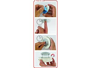 Meiprosafe Magnetic Smoke Detector Installation Tool,Quick and Easy Fastening Ceiling Mounted Kit for Smoke Alarm,No Need Drill 10 Seconds Install Smoke Sensors(3pcs) (Color: Natural)