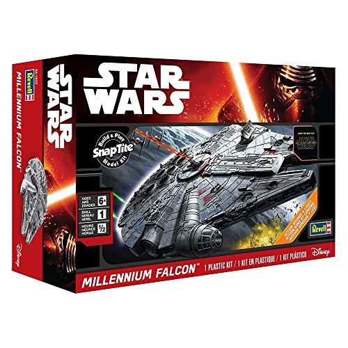 031445016332 - Revell SnapTite Build & Play(TM) Star Wars(TM) Episode 7 Millennium Falcon(TM) carousel main 16