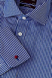 Luxury Sartorial Pure Cotton Slim Fit Striped Shirt