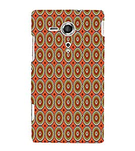 Abstract Painting 3D Hard Polycarbonate Designer Back Case Cover for Sony Xperia SP :: Sony Xperia SP M35h