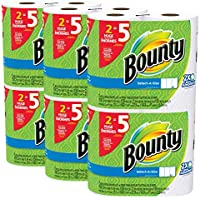 Bounty Select-a-Size Paper Towels Huge Roll 12 Count (White)
