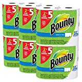 bounty select a size paper towels white huge roll 12 count