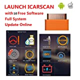 icarscan 2018 New Launch OBD2 Code Reader Scanner Super X431 IDIAG Vpecker Easydiag m-diag lite for Android/iOS with 10 Free Software Update Online