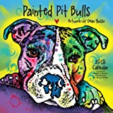 Painted Pit Bulls 2015 Calendar