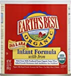 Earth's Best Organic Infant Formula w...