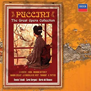 Puccini Great Opera Collection (Box)