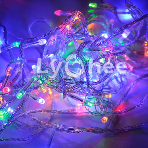 100 Led 10m Wedding Mix Color Changing RGB Party Fairy String Lights Controller eBay
