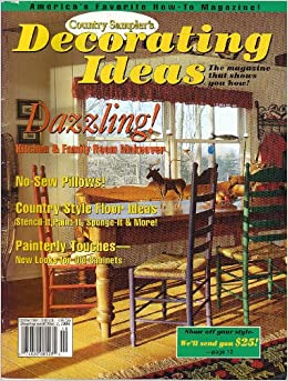 country sampler 39 s decorating ideas vol 2 no 5 october