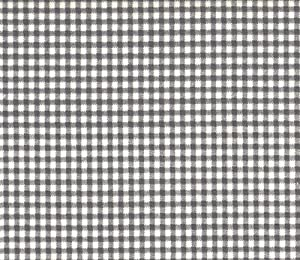 Amazon.com: French Country Brindle Gray Gingham Check Cotton 90 inch